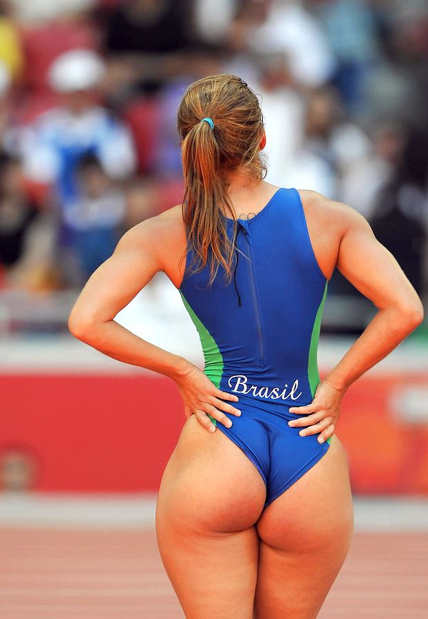 big ass brazilian sporty girl