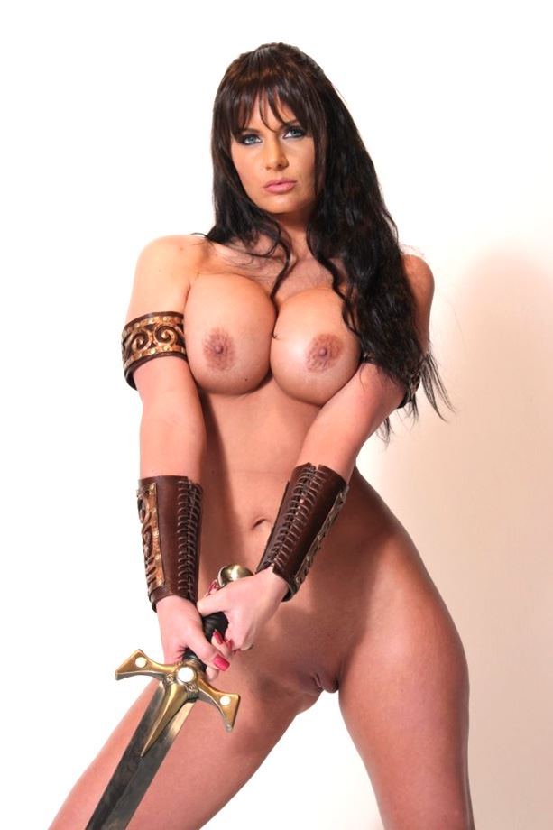 naked xena cosplay
