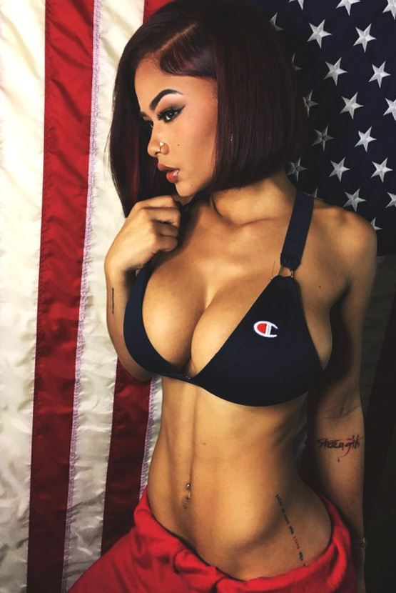 usa sexy girl with big tits