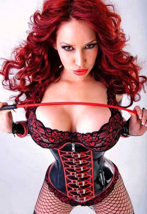 redhead domina pic
