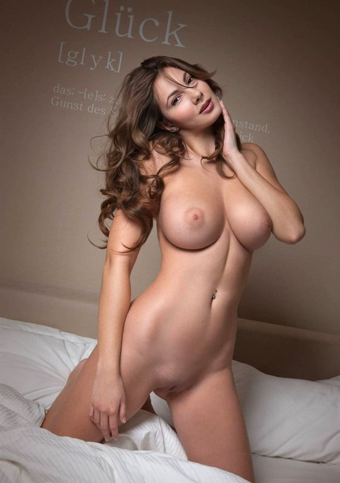 german nude model with nice tits