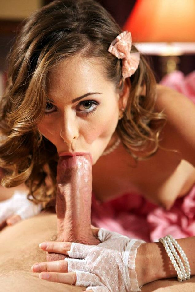 Riley Reid sucking cock in 69