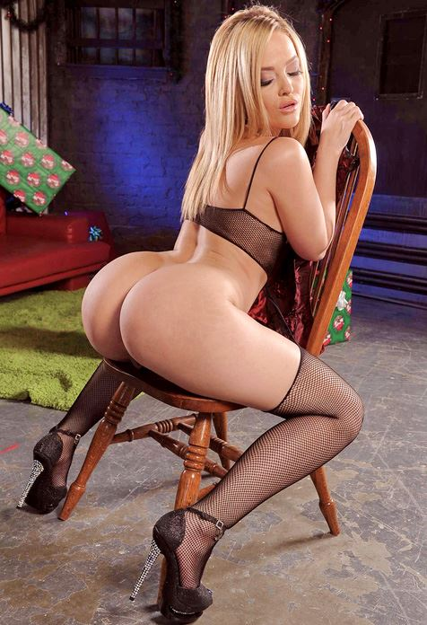 Alexis Texas big ass sitting on chair