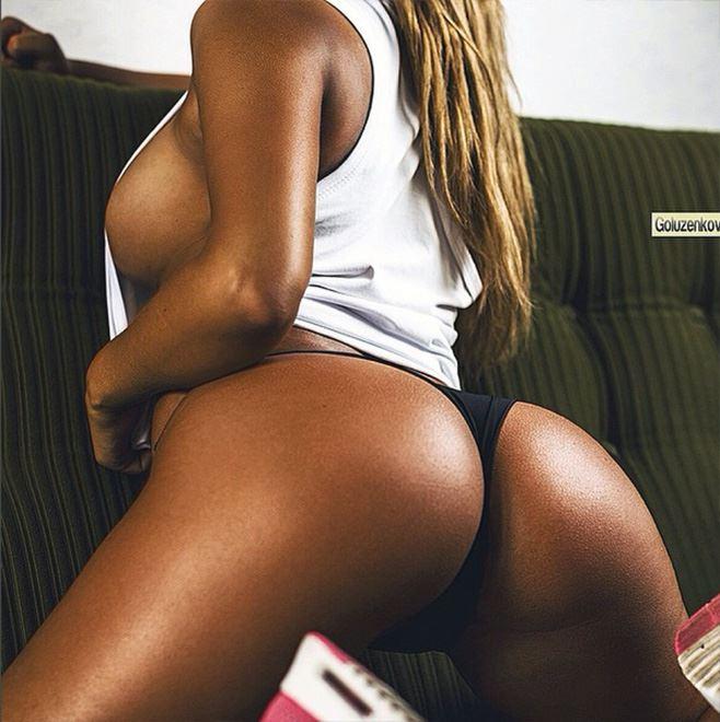 Anastasiya Kvitko tanned ass