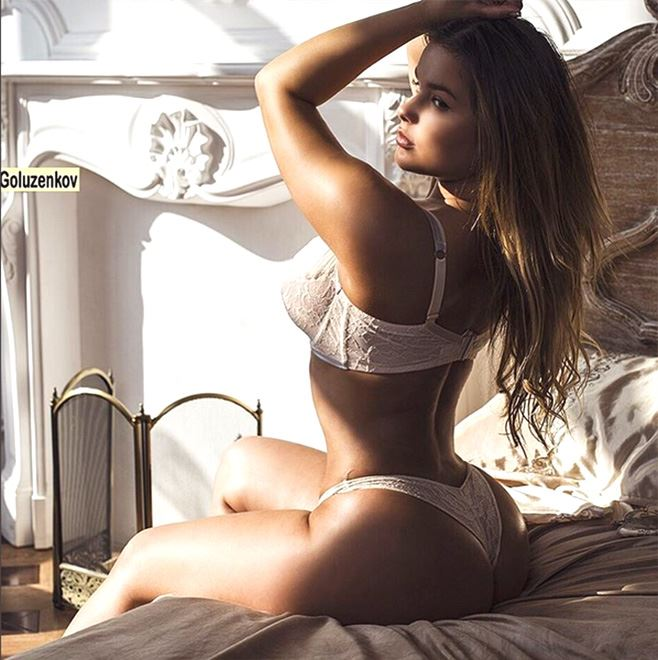 Anastasiya Kvitko in bed naked