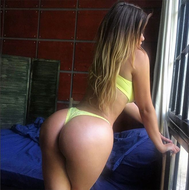 Anastasiya Kvitko ass from behind