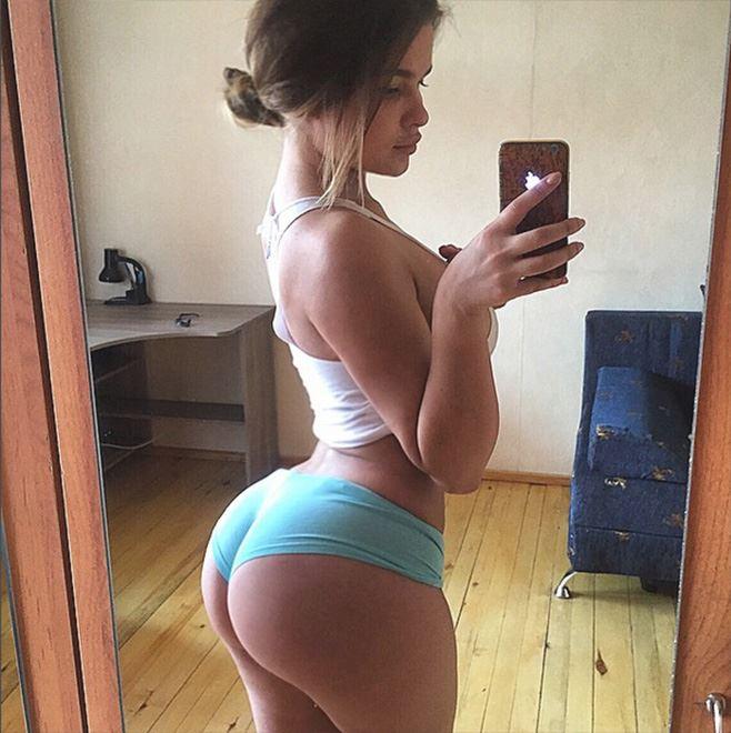 Anastasiya Kvitko round ass