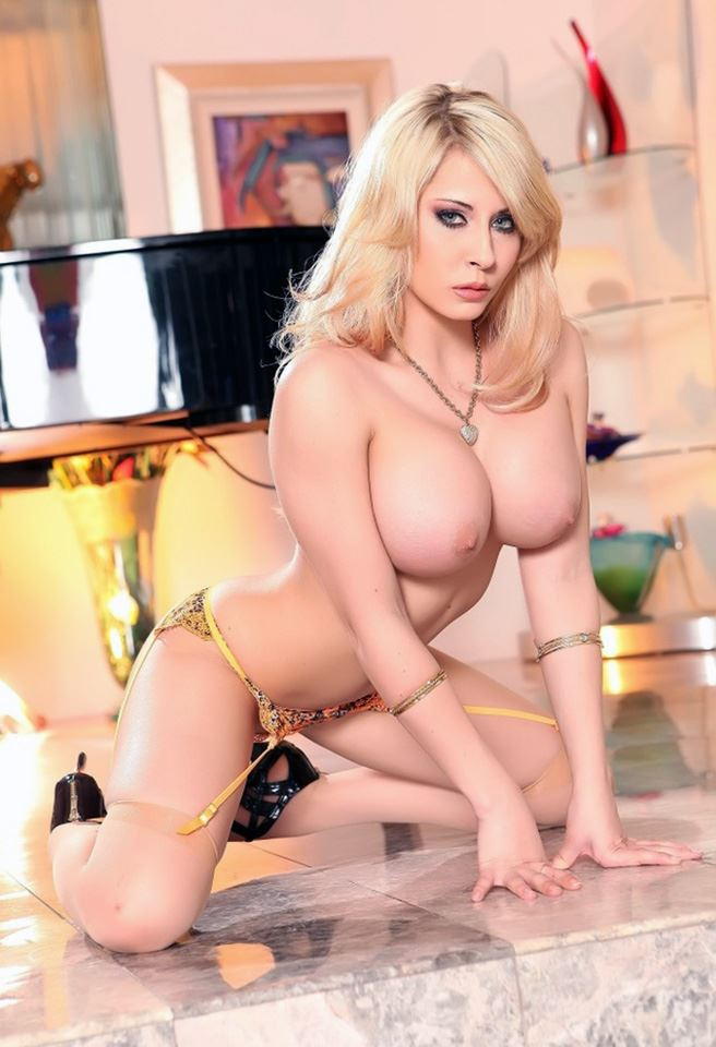 Madison Ivy blonde