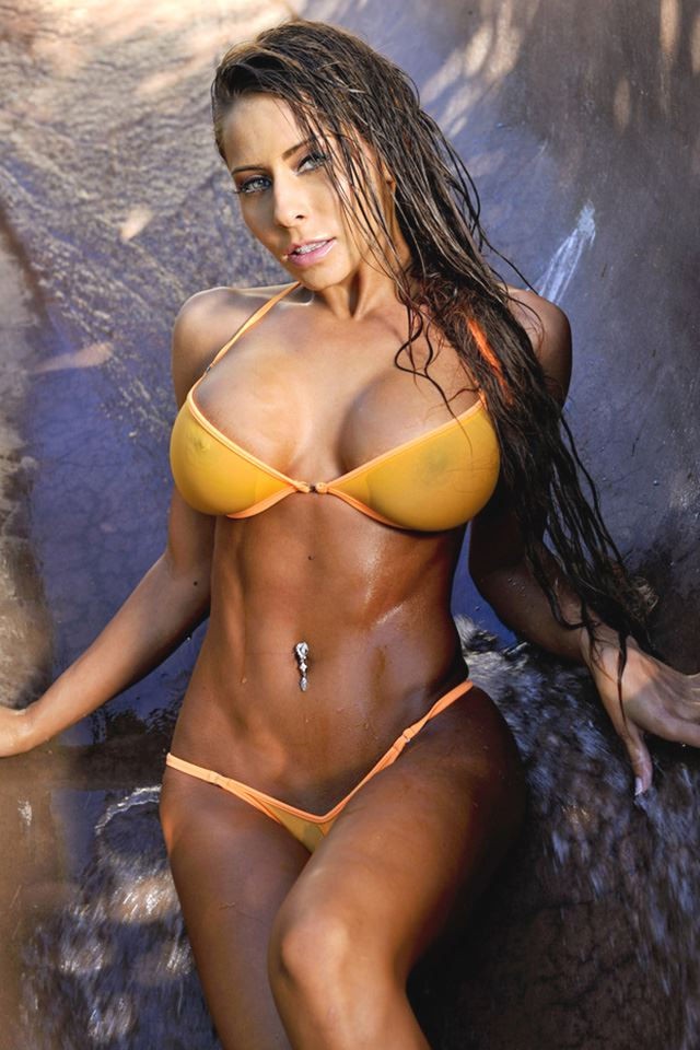 Madison Ivy in swimsuit