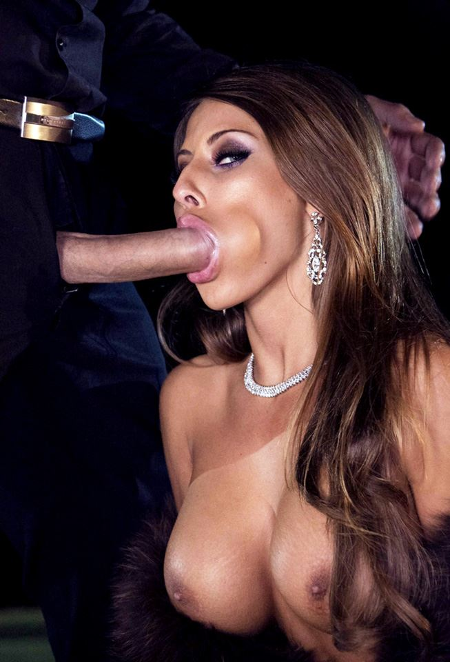 Madison Ivy sucking big cock