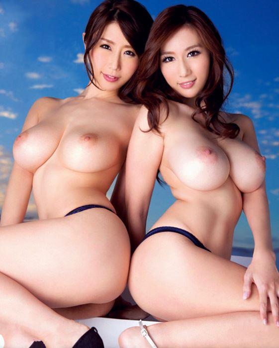 two big tits asian lesbians