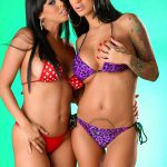 Diamond Kitty and Angelina Valentine lesbians