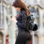 galina Dubenenko black leggins