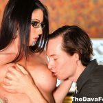 dava foxx has her tits licked