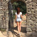 Galyusha Dubenenko ass from behind