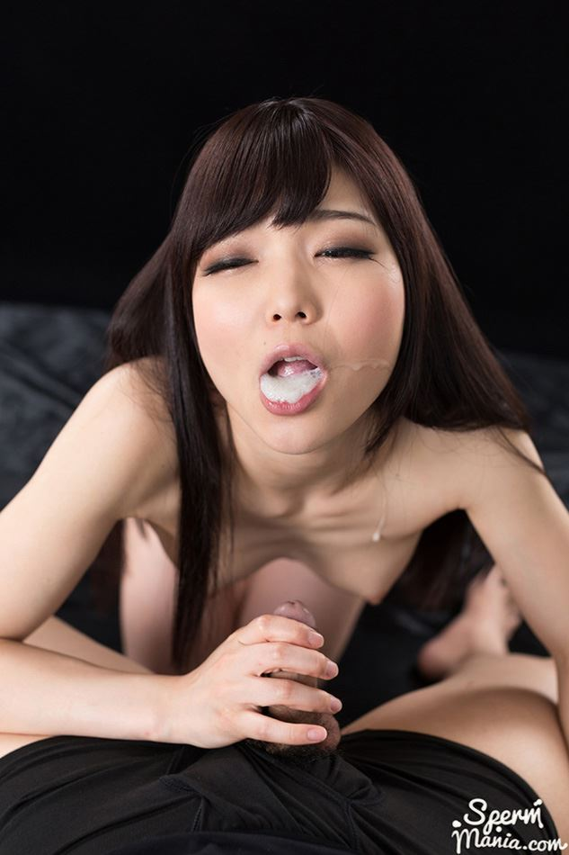 shino aoi mouth full of cum