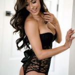 ana cheri in black lingerie for perfect foreplay