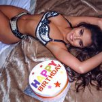 Demi Rose sexy bithday picture