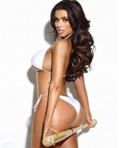 Abigail Ratchford big ass and baseball bat