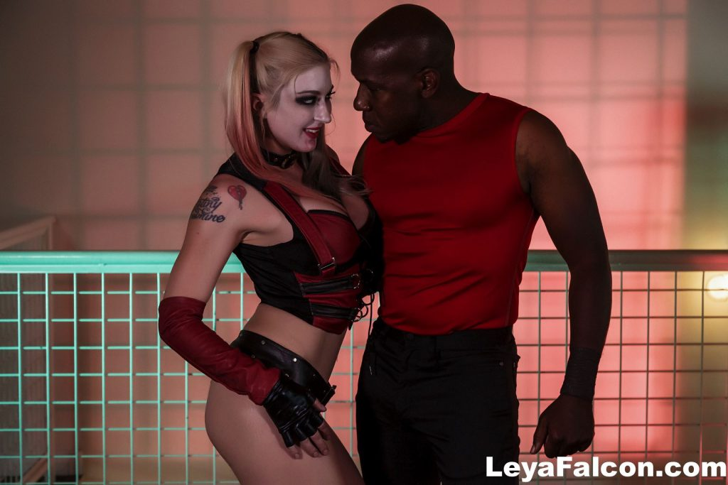 pornstar leya falcon and mandingo