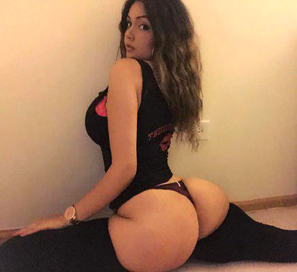 huge ass athletic hoe from las vegas