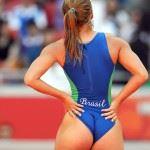 big ass brazilian sporty girl