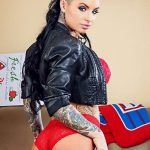 christy mack round ass in jacket