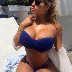 Anastasiya Kvitko huge tits in swimsuit
