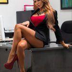 Madison Ivy office secretary