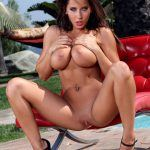 Madison Ivy plays with her boobs