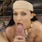 aletta ocean doing blowjob
