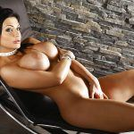 aletta ocean laying with her big tits