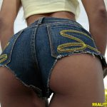 Raven Redmond ass in jeans