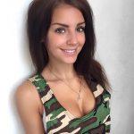 Galyusha Dubenenko tits and golden cross
