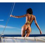 Galyusha Dubenenko on boat