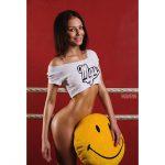 Galyusha Dubenenko smile on pussy