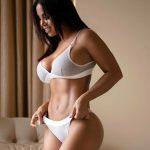Dolly Castro in lingerie